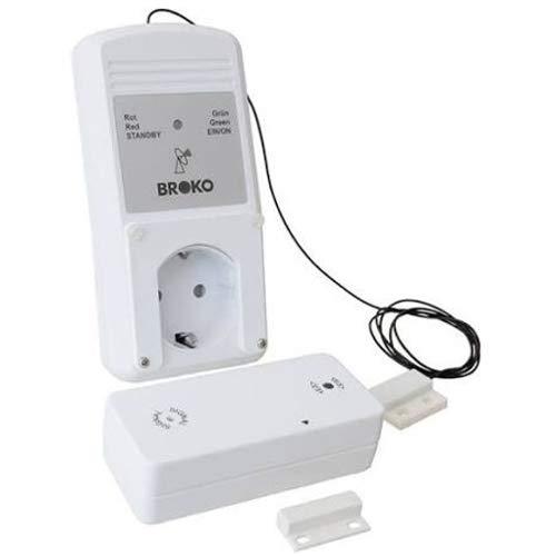 BROKO Funk-Sicherheits-Abluftsteuerung BL220FA(SG) mit Außenantenne / Funkschalter / Antenne / Ersatzteil / Dunstabzugshaubensteuerung