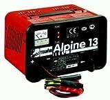 Ladegerät für die Aufladung von Blei-Akkumulatoren mit Schutz gegen Überlastung und Verpolung. Mit Amperemeter.