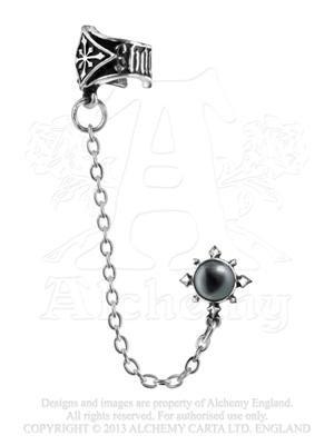 Chaosium Orecchini a perno, bracciale) by Alchemy Gothic, England