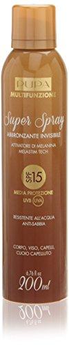 Preisvergleich Produktbild Pupa Solari Multifunzione Super Spray Abbronzante Invisibile SPF15 Spray 200 ml