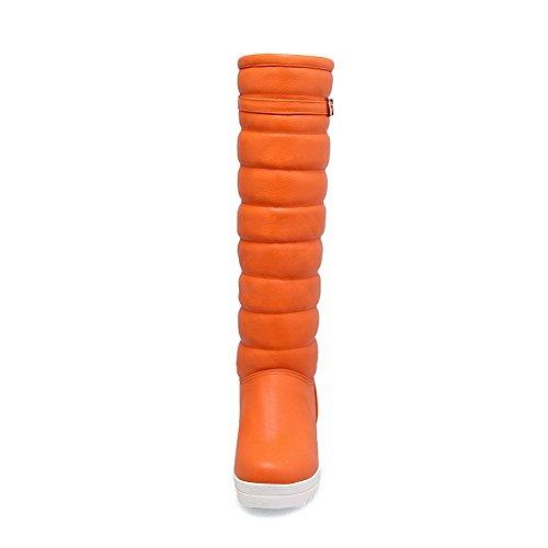 BalaMasaAbl09391 - Sandali con Zeppa donna Orange