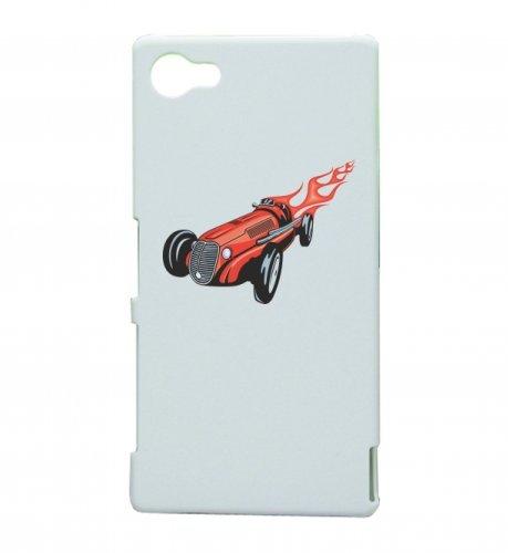 Smartphone Case Klassik Hotrod Cobra in rosso con fiamme America Amy USA Auto Car lusso larghezza Bau V8V12Motore cerchione Tuning Mustang Cobra per Apple Iphone 4/4S, 5/5S, 5C, 6/6