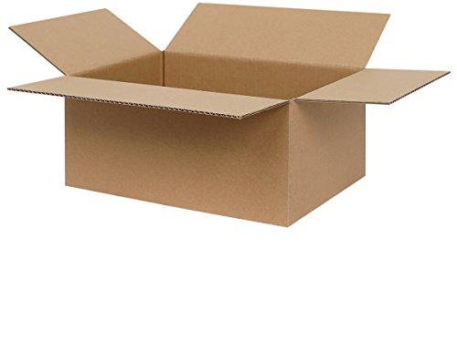 50 Faltkartons 300 x 215 x 140 mm | Versandkartons | Kartons geeignet für Versand mit DPD, GLS und Hermes