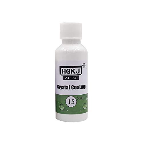 Lomsarsh HGKJ-15 Autolack-Kratzer-Reparatur-Entferner-Agent-Beschichtungs-Wartungszusatz Oben 9H plattierter Kristall 20ML / 50ML