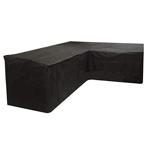 ZHENWOFC 260x192x76x89cm L Form Ecksofa Couch Abdeckung Wasserdichte Schnitts Möbel Regenschutz Hardware-Ersatzteile