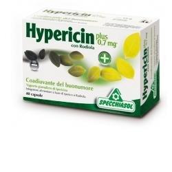 Specchiasol Hypericin Plus Integratore Alimentare per il Tono Psicofisico - 40 Capsule