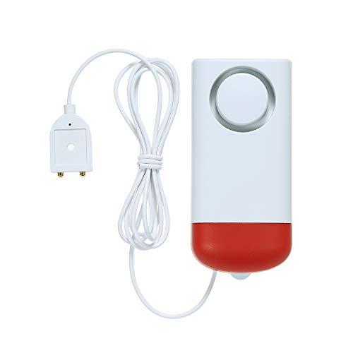 OWSOO Wasser Leakage Sensor 433MHz Wireless Standalone Water Lecks Intrusion Detector unterstützt Lokaler Alarm Wasserstand Überlauf Alarm für Haus Alarmanlage -