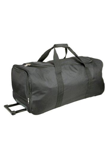 Pratica borsa sportiva con funzione Trolley Kimood Ki0812 nero