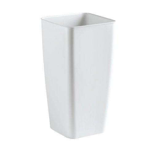 Herstera 10003-Cubremaceta 25 x 25 x 47 cm blanc