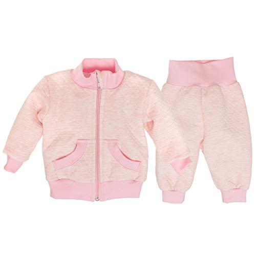 Ateena Bomberjacke und -Hose für Babyjungen, rosa Trainingsanzug - Langarm-Baumwolle, für Kleinkinder