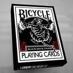 Bicycle Black Tiger Deck - Baraja de cartas, color rojo de US Playing Card
