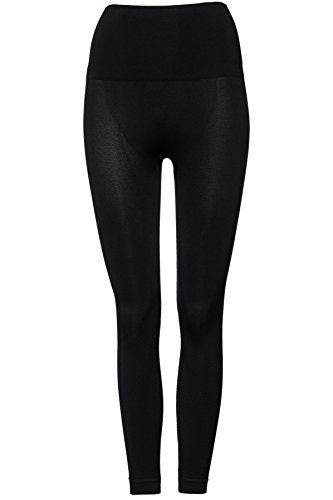 FIND Sport Leggings Damen Schwarz (Black)