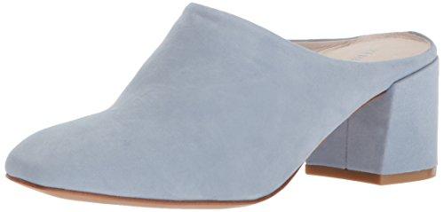 Kenneth Cole New York Women's Edith Slip On Mule with Low Block Heel, Storm, 7 Medium US Heel Mule