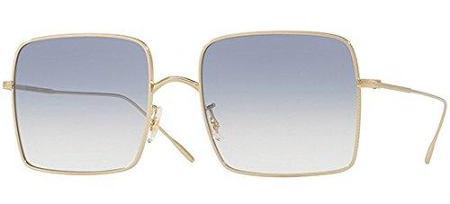 Sonnenbrillen Oliver Peoples RASSINE OV 1236S SOFT GOLD/LIGHT BLUE SHADED Damenbrillen