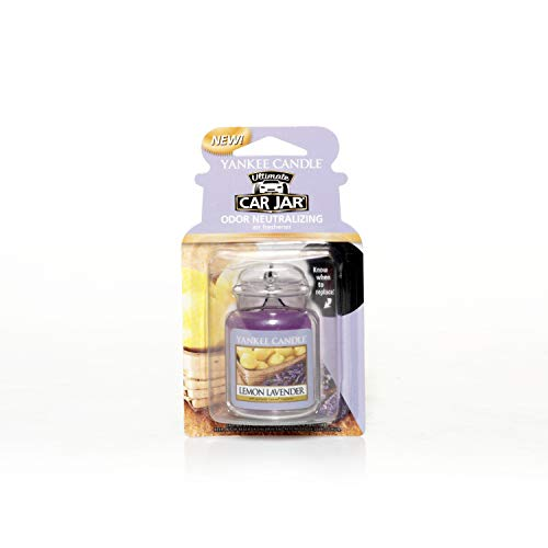 Yankee Candle 1220907E Deodoranti per Auto, Car Vaso Ultimate, Lemon Lav