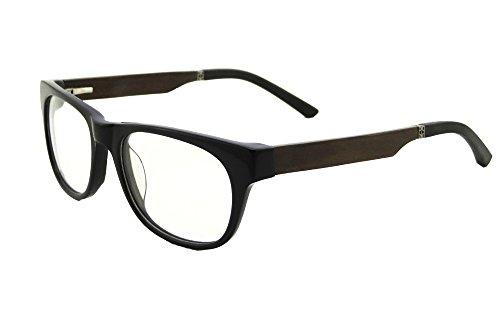 Shinu progressiva messa a fuoco multipla occhiali da lettura multifocus occhiali multifocali computer occhiali da lettura- zf109 (gloss black-chacate, up+0.00, down+2.00)