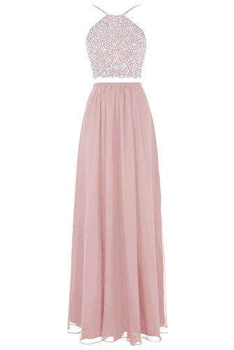 Bbonlinedress Damen Modern Cocktail-kleider Schnürung Party Kleider Abendkleider Blush (Kostüm Moderne Juliet)