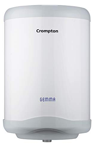 Crompton SWH10, Gemma 10-Litre Storage Water Heater (White/Grey)