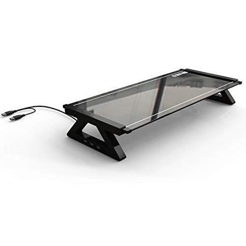 HIOD Monitor Tabelle Laptop Ständer Notizbuch Computer Schreibtisch mit 3 X USB 2.0 HUB Anschlüsse -