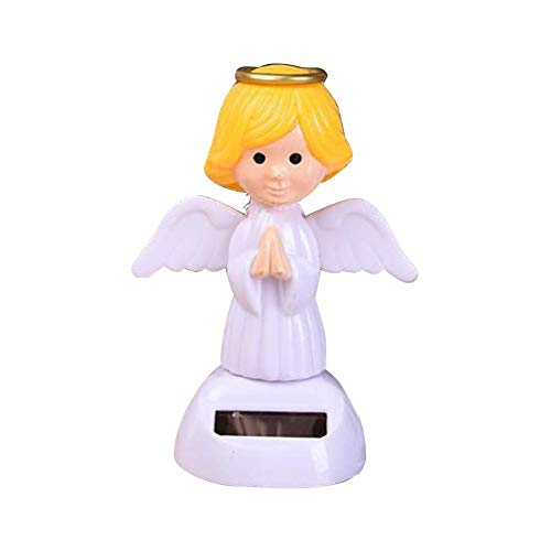 Solar Wackel Figur, Solar Schaukel Puppe Auto Dekoration, Tanzen Spielzeug für Autodekor - (Spielzeug Tanzen Solar)