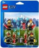 Lego City Figuren Set Feuerwehr - 43teiliges Figuenset