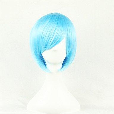HJL-cosplay perruque / nouvelle / anim¨¦ cos perruques de cheveux bleu de l'eau du ciel , blue
