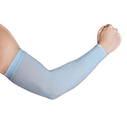 tz Kühlung Arm Ärmeln für Erwachsene Herren Frauen, Kühler Schutz Ärmel Zum Bedecken der Arme, Herren, 1 Pair Blue, Erwachsene ()