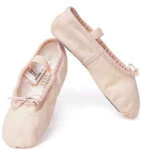 Sansha 4C-Schuhe Tanz Schläppchen Damen, damen, 4C rose