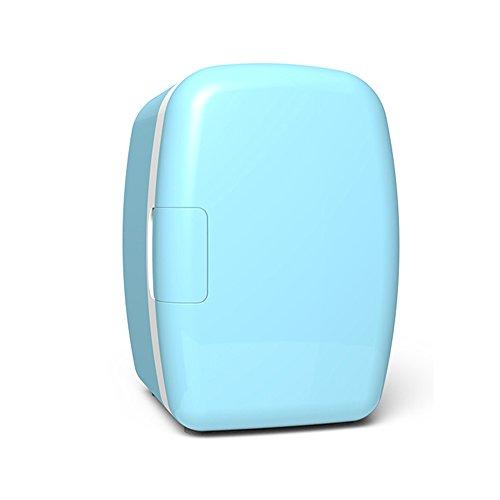 RY 6L Auto Kühlschrank Gefrierschrank Mini Kleiner Kühlschrank Portable Cold Box Mini Kühlschrank Haushalt Schlafsaal (Farbe : Blue)