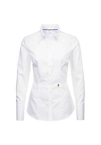 Seidensticker Schwarze Rose - Damen City Bluse 1/1-lang (60.080613), Größe:38;Farbe:Weiß(1)