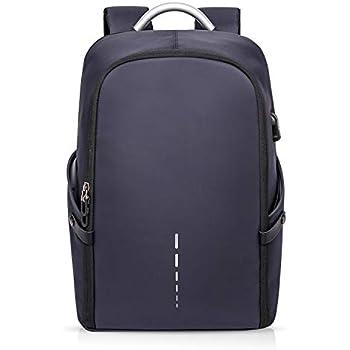 542245ee28 FANDARE Moda Zaino 15,6 pollici Laptop con Porta USB Fixed Band Uomo  Rucksack Impermeabile Zainetto Outdoor Viaggio Camping Multifunzione  Backpack ...