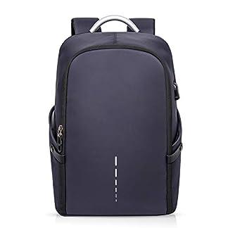 FANDARE 3 en 1 Mochila Hombres Business USB Laptop Bolsa de Mano Commuter Estudiante Outdoor Viaje Bolso de Hombro Impermeable Poliéster