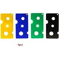Chunyang 4pcs Bunte PMMA Kunststoff Essential Oil Roll-on-Flaschen-Rollen-Kugel-Schl/üsselwerkzeug-/Öffner-Remover