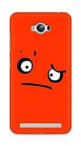 Amez designer printed 3d premium high quality back case cover for Asus Zenfone Max ZC550KL (Sad face facial expressions)