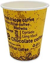 9 OZ DISPOSABLE PAPER CUP (HIGH THICKNESS) FOR HOT TEA,COFFEE, KARAK CUPS, FOR HOME OR OFFICE USE