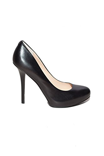 Guess Damen Schuhe Spaltung Heel cm 11 Plat. Cm 1.5 Monda Pump Leather FL4MONLEA08 BLACK Black