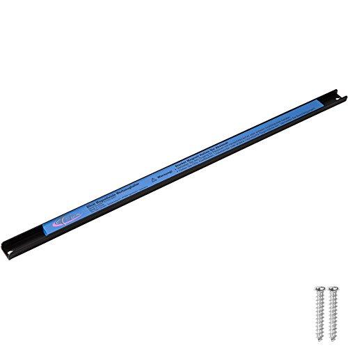 TecTake Magnetleiste Werkzeughalter | inkl. Montagematerial | geeignet für alle magnetischen Gegenstände - Diverse Modelle (60 cm | Nr. 402619)