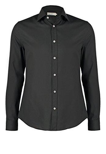 Pier one camicia da uomo slim fit in bianco, blu navy o nero, taglia m