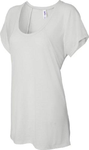Bella+Canvas: Flowy Raglan T-Shirt 8801 Weiß - Weiß