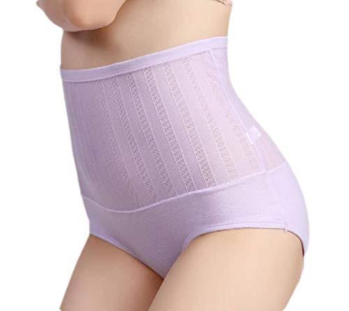 UUGYE Women's High Waist Shapewear Tummy Control Underwear Brief Panty 11 US L - Hi-rise Panty