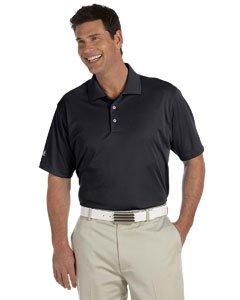Golf Climalite (adidas Golf Mens Climalite Basic Short-Sleeve Polo (A130) -Black -3XL)