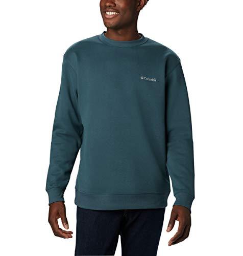 Columbia Herren Hart Mountain II Crew Hemd, Nachtschatten, Klein -