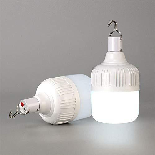 Außenbirne Usb Wiederaufladbare Led Notbeleuchtung Tragbare Zelt Lampe Batterie Laterne Bbq Camping Licht Für Terrasse/Veranda/Garten