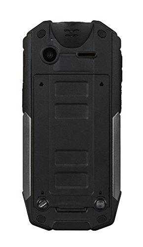Evolveo StrongPhone X3 2  194g Negro  Rojo Caracter  stica del tel  fono - Tel  fono m  vil  Barra  SIM doble  5 08 cm  2    2 MP  2800 mAh  Negro  Ro