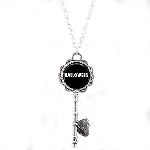 bab Halskette mit Schlüsselanhänger, Halloween-Motiv (Liste Eine Kinder-halloween-filme Von)