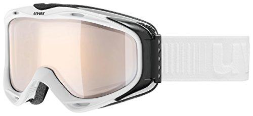 Uvex g.gl 300 VLM Skibrille, White Mat, One Size