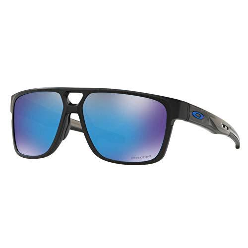 Ray-Ban Herren 0OO9382 Sonnenbrille, Braun (Matte Black Prizmatic), 60