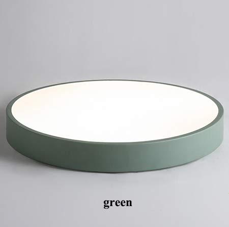 LED-Kronleuchter Beleuchtung Wohnzimmer-Anwendung dimmbar LED Deckenleuchte Kronleuchter Led Schlafzimmer Kronleuchter, grün, dia40cm, dimmbarer Effekt