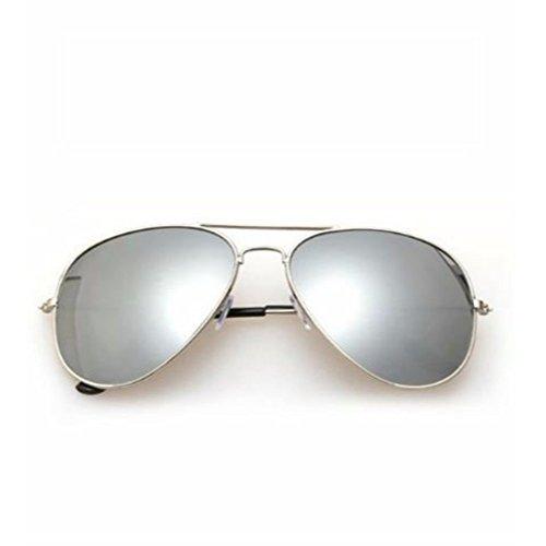 Eagle Herren Sonnenbrille silber Silver Frame Silver mirror Lens