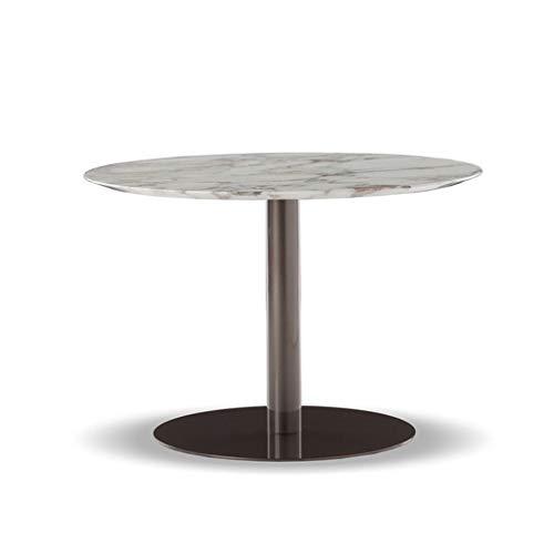 Tavolino Mesa De Centro Redonda Negra L Mesa De Sofá Moderna De ...